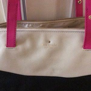 Kate Spade Zipper Leather Tote